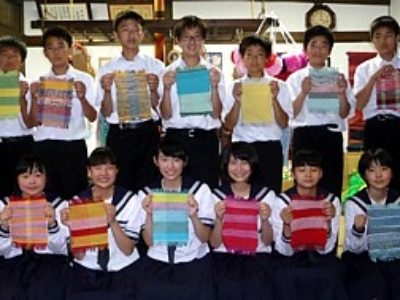 7月4日 十和田市立大深内中学校の皆さん